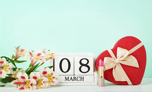 8 Марта: праздник нежности и красоты