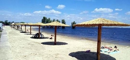 Пляжи в Черкассах