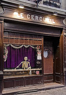кафе «Le Cercueil»