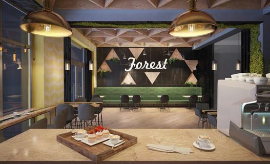 Мясной ресторан «Forest» в Черкассах