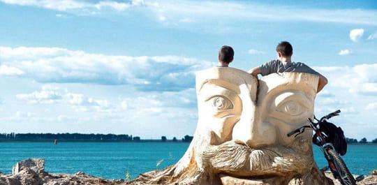 Лето в Черкассах – время пляжного отдыха