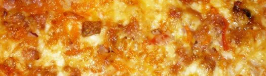 приготовление домашней пиццы