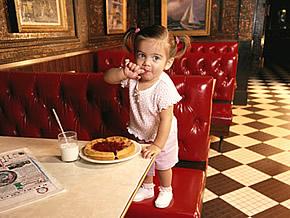 ресторан для похода с ребенком