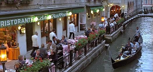 ресторан в Венеции
