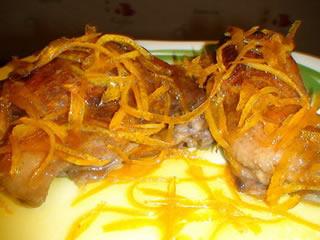 Утка под апельсиновым соусом